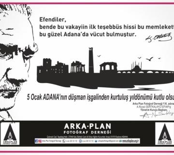 5 Ocak Adana'mızın kurtuluşu kutlu olsun.