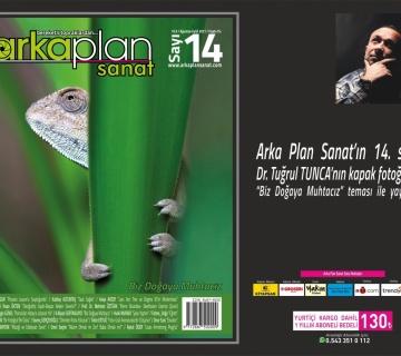 Arka Plan Sanat'ın 14. sayısı yayınlandı