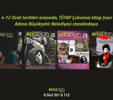 4-12 Ocak tarihleri arasında, TÜYAP Çukurova kitap fuarındayız