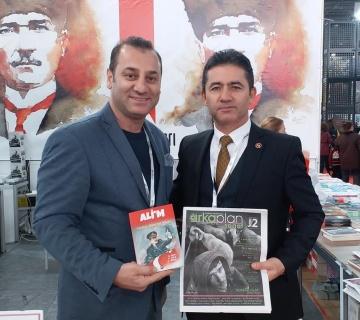 Mehmet Alkan'a Arka Plan Sanat gazetemizden takdim edip, keyifli bir sohbet gerçekleştirdik.