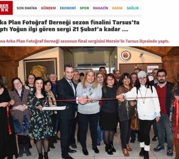 4. Arka Plan Fotoğraf Atölyelerimizin Tarsus'ta açmış olduğu sezon finali sergisinin yerel ve ulusal basına yansımaları.
