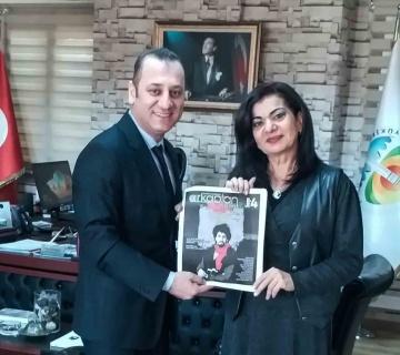 Adana Büyükşehir Belediyesi'ne ziyaret