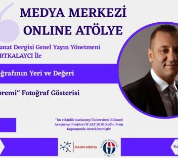Gaziantep Üniversitesindeyiz...